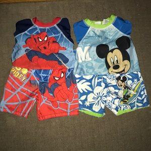 Boys bathing suit sets